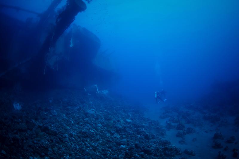 ايهاب عثمان ، الغطس تحت الماء