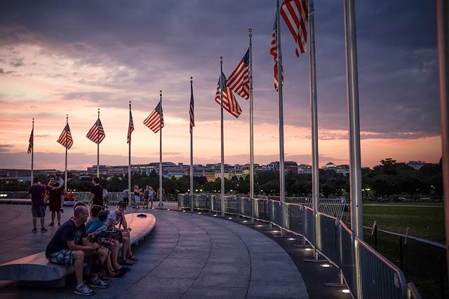 إيهاب  عثمان . المنتزه الوطني التذكاري في ولاية واشنطن العاصمة